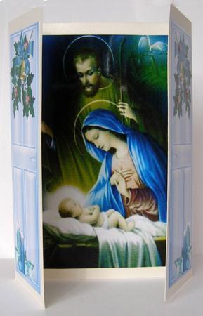 Beautiful Religious Christmas Cards.Beautiful Religious Christmas Gatefold