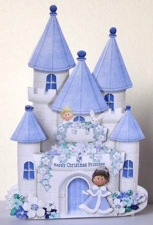 Princess Castle 3d Pop Out Card Cup579557 1302