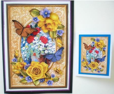 Pretty As A Rose Frame Topper Cup846753 1056 Craftsuprint