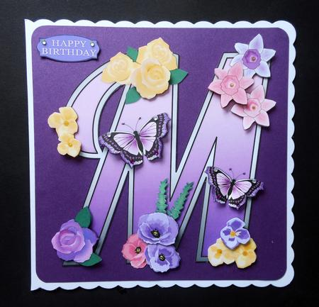 Beautiful Monograms Letter M Mini Kit Photo By Shelagh E Osborn