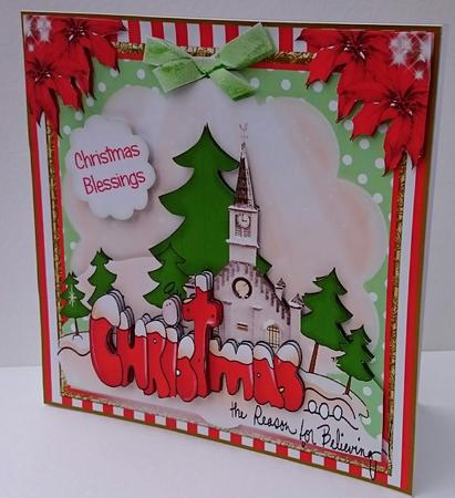 Christmas The Reason To Believe Card Front Kit Cup657548