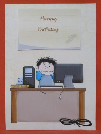 Happy Birthday Computer Buff Cup303740 913 Craftsuprint