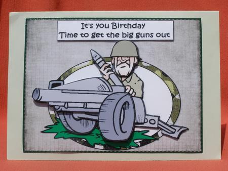 Military Birthday Cards gangcraftnet – Army Birthday Cards