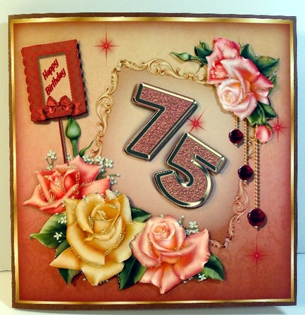 Birthday Age Cards 7180 Birthday Gallery – 75 Birthday Card