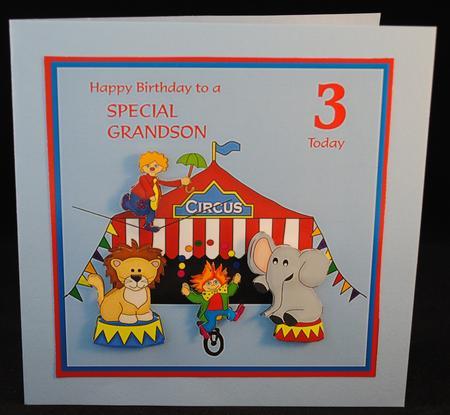 Free Printable Birthday Card Grandson