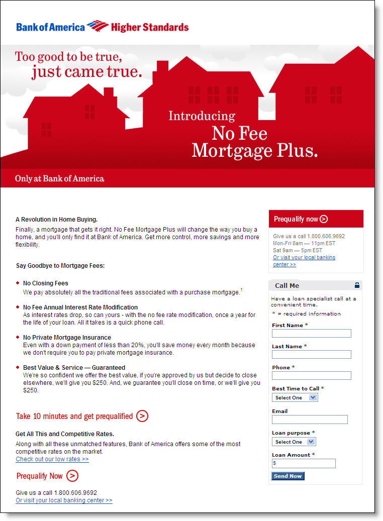 bank of america international no fee