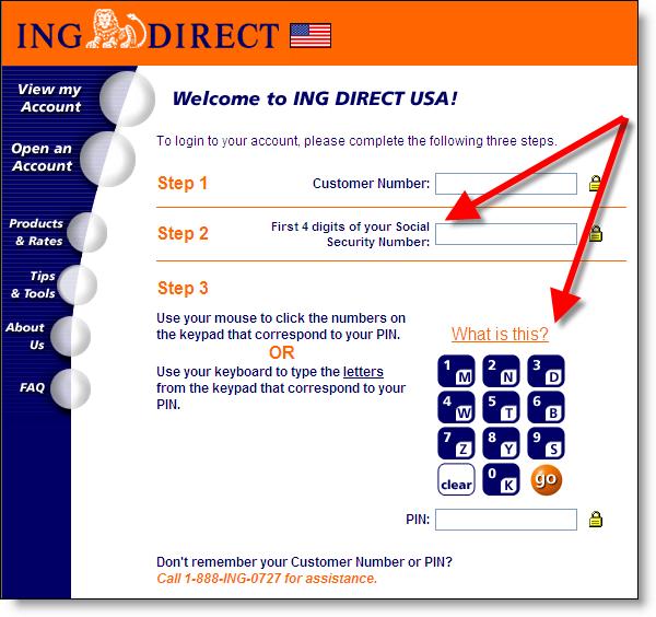 Ing Direct Login Usa