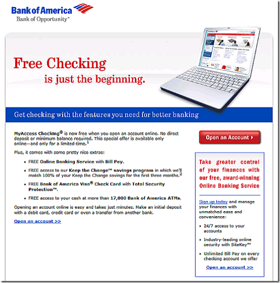 Free Checking in the Internet Age - Finovate