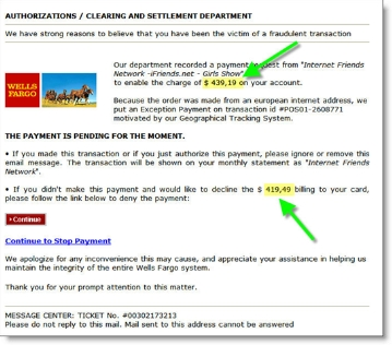 Is There Anything Left to Phish? Fake Wells Fargo Credit