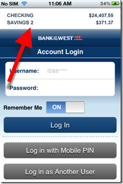 Mobile Monday: Bank of the West is First in USA with No-Login