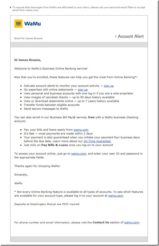 Email Samples Archives - Page 6 of 8 - Finovate