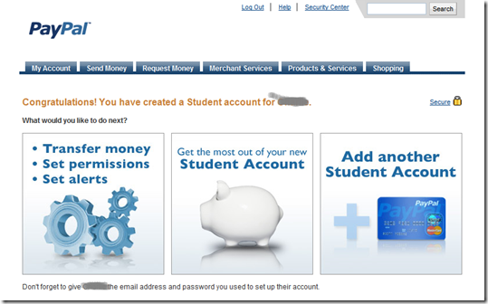 PayPal Launches Drop-Dead Simple Teen Prepaid Card & PayPal Account