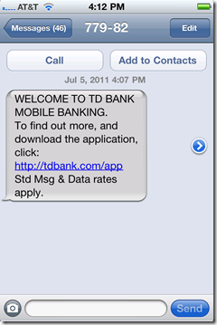 TD Bank Uses Interactive Online Banner Ad to Capture Mobile