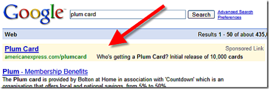 American Express Plum Card Uses Quot Scarcity Marketing