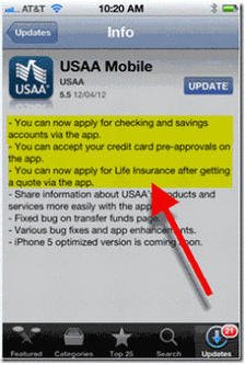 What Is Usaa >> Mobile Marketing Usaa Embeds Preapproved Loan Offers Within
