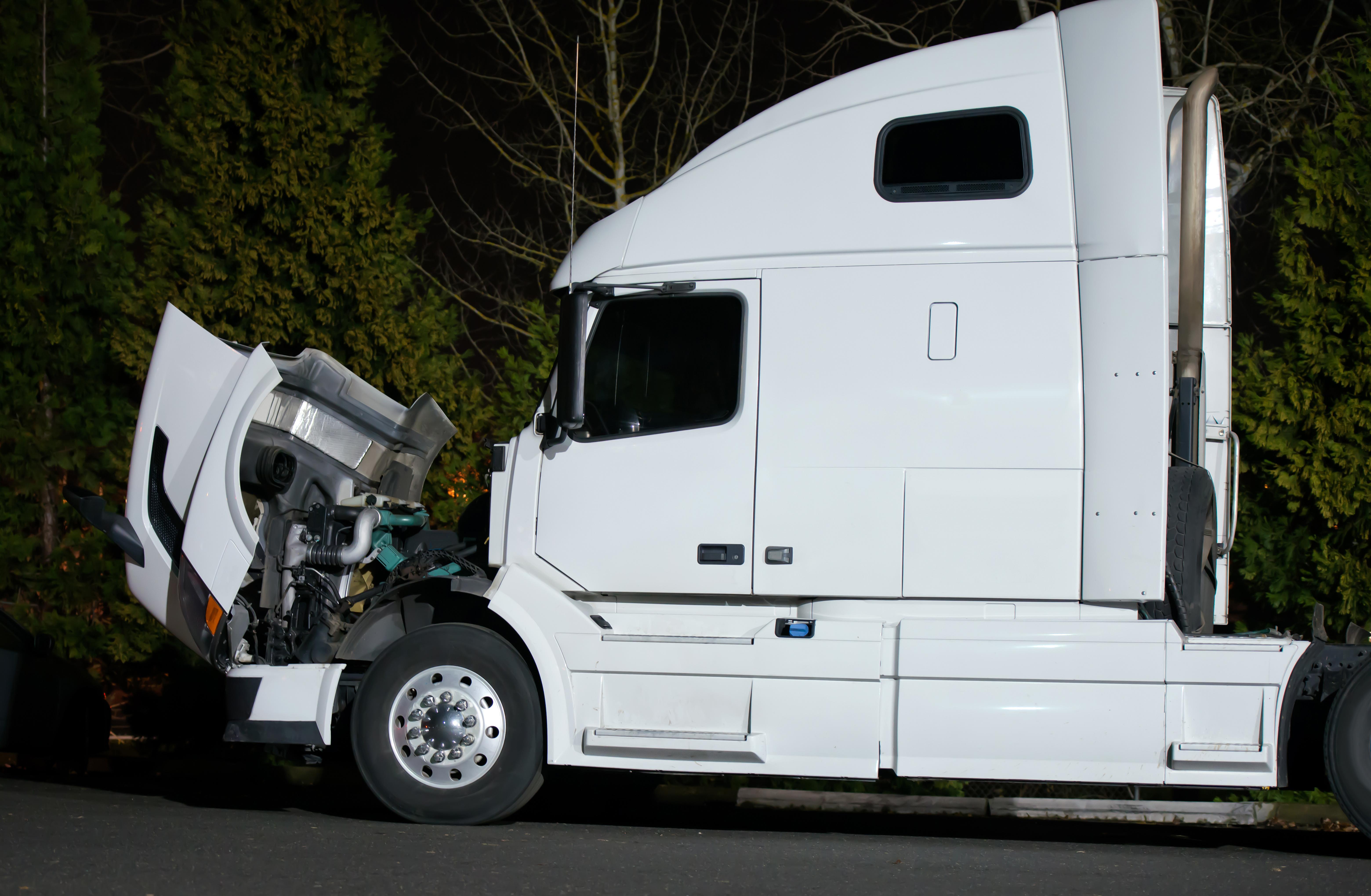 Semi Truck Pre-Trip Inspection