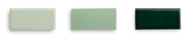 Green with envy fireclay tile - Sage green color wheel ...