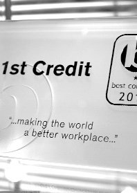 1st Credit - Best company 2013
