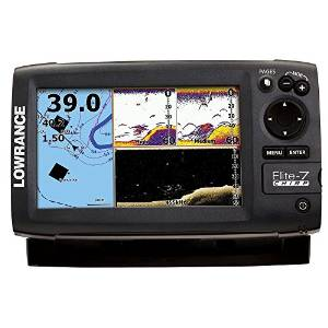 1.Lowrance Elite-7 Gold CHIRP