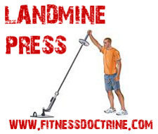 landmine barbell complex workout