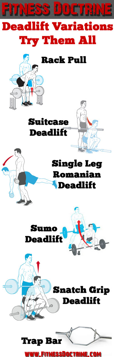 deadlift variations