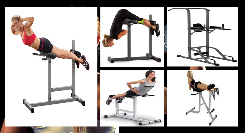 Roman Chairs Abdominal Amp Lower Back Exercise Equipment