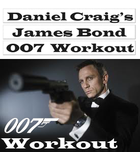 Daniel Craig Workout For Role of Jame Bond