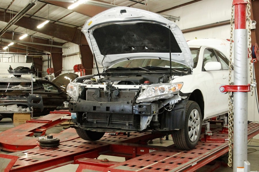 Body & Frame Work Repair | Marty Cancila Collision Center ...