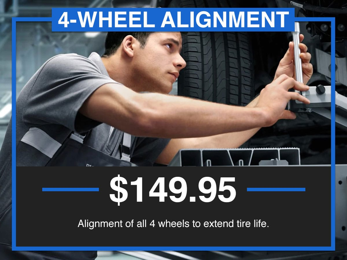 Suntrup BMW Four-Wheel Alignment Service Special Coupon St. Louis, MO
