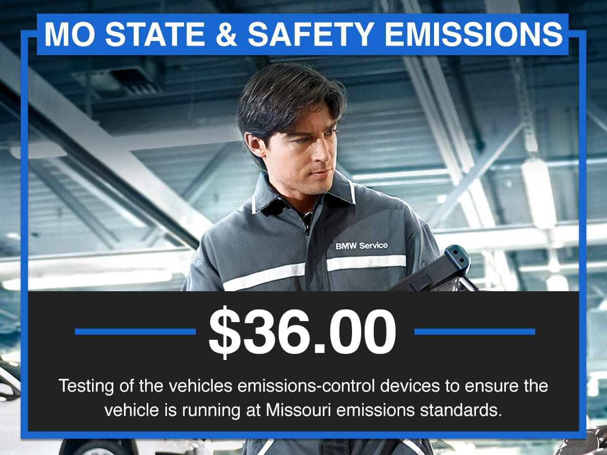 Suntrup BMW MO State & Safety Emissions Service Special Coupon St. Louis, MO