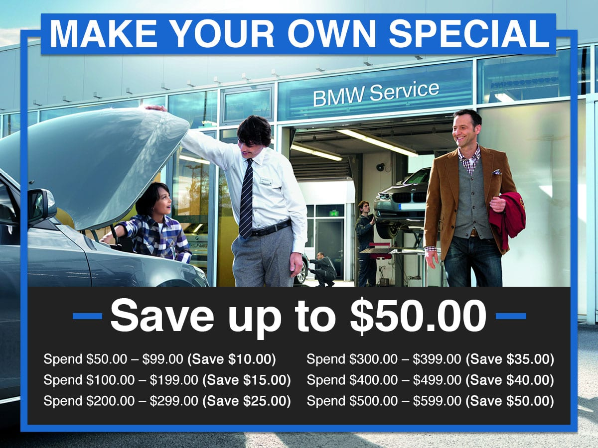 Suntrup BMW Make Your Own Special Service Coupon St. Louis, MO