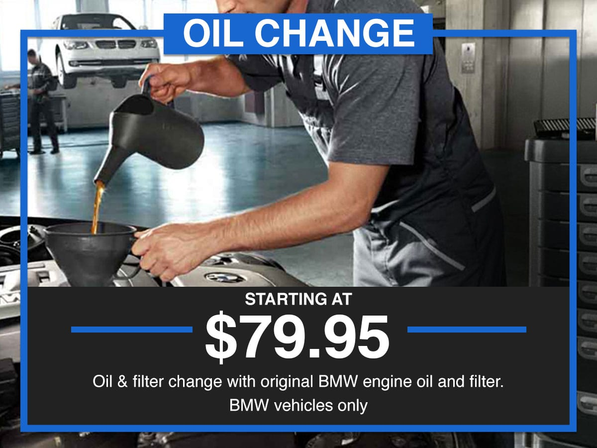 Suntrup BMW Full Synthetic Oil Change Service Special Coupon St. Louis, MO
