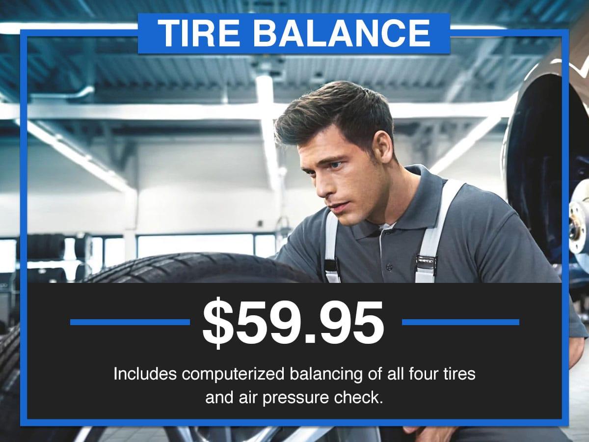 Suntrup BMW Tire Balance Service Special Coupon St. Louis, MO