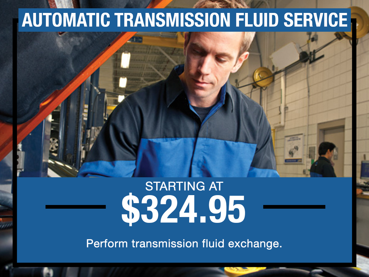 Automatic Transmission Fluid Service Special I-5 Chrysler Dodge Jeep RAM Chehalis, WA