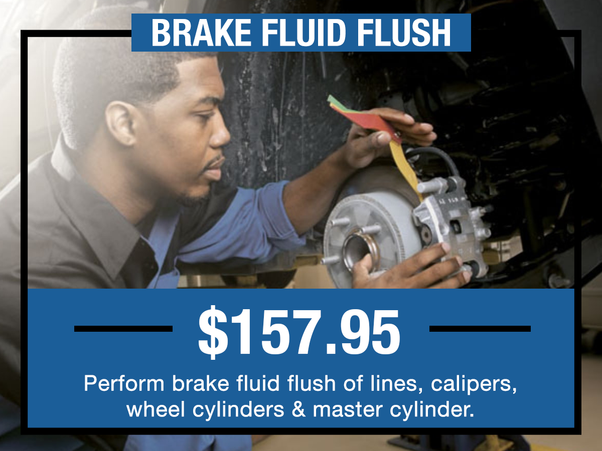 Brake Fluid Flush Service Coupon