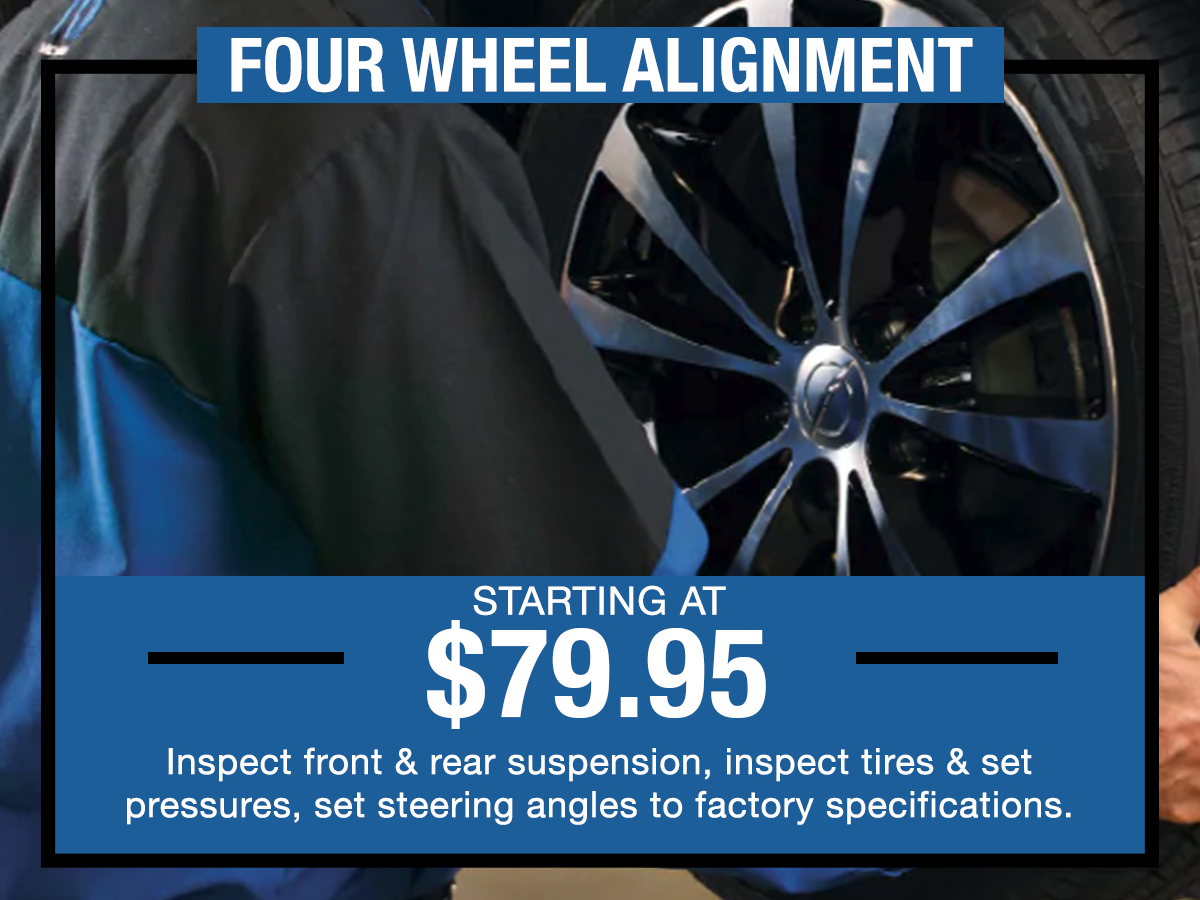 Four Wheel Alignment Special I-5 Chrysler Dodge Jeep RAM Chehalis, WA