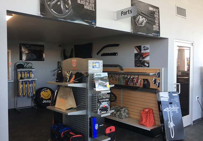 I-5 Mopar Parts Department