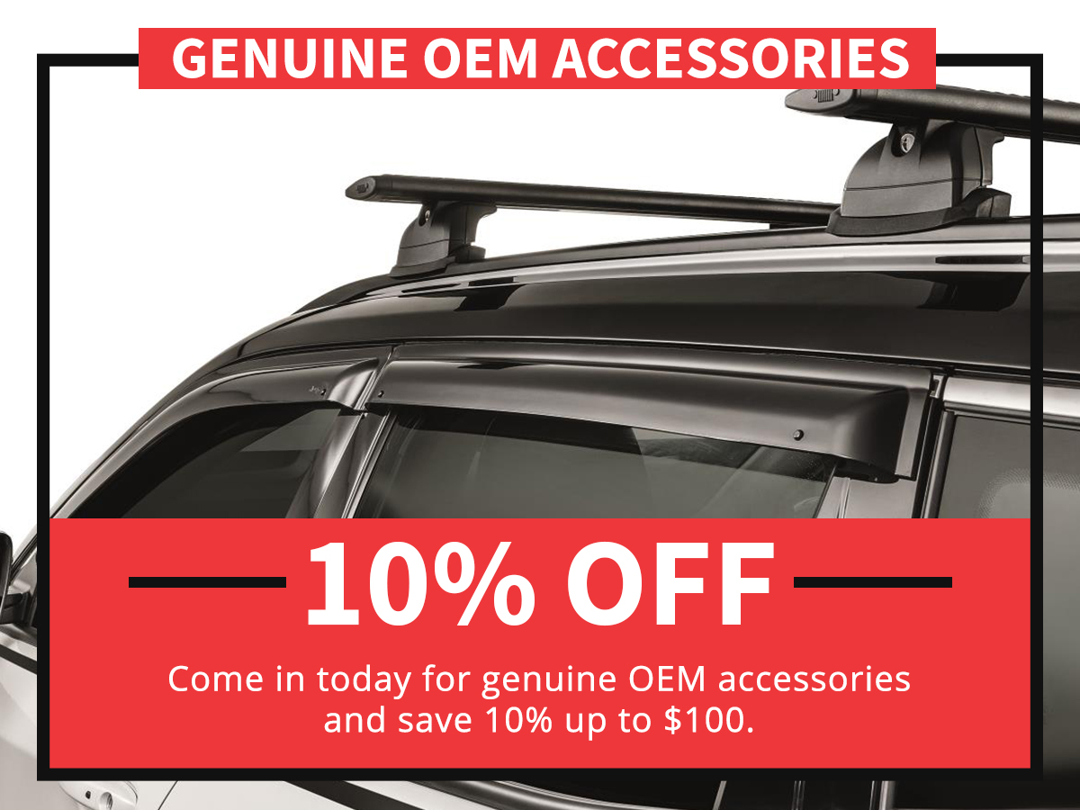 Genuine Mopar Accessories Service Special