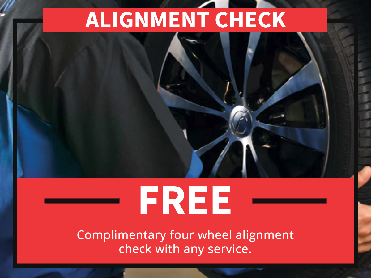 Alignment Check Service Special