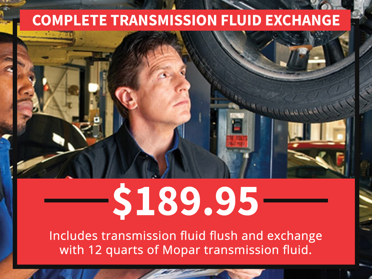 Complete Transmission Fluid Exchange