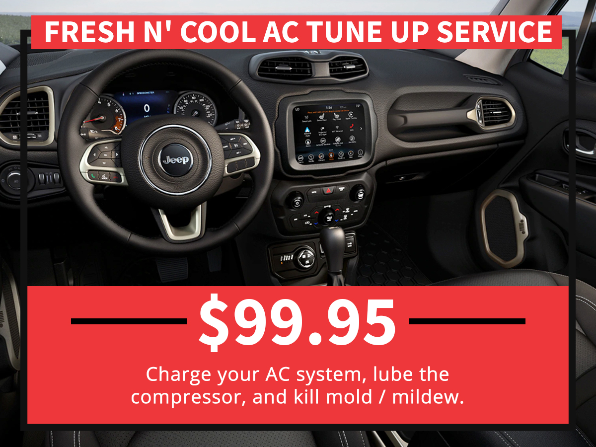 Fresh N' Cool AC Tune Up Service Special