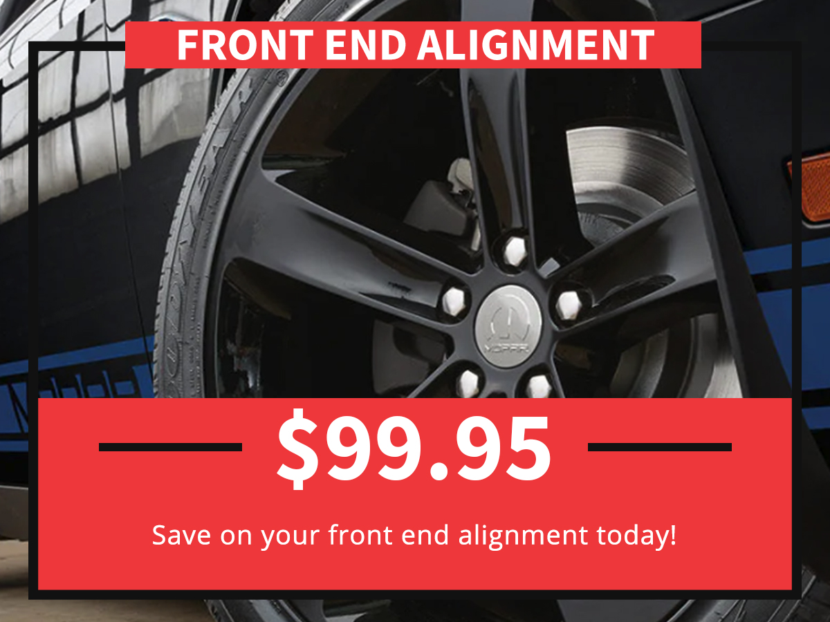 Front End Alignment service special