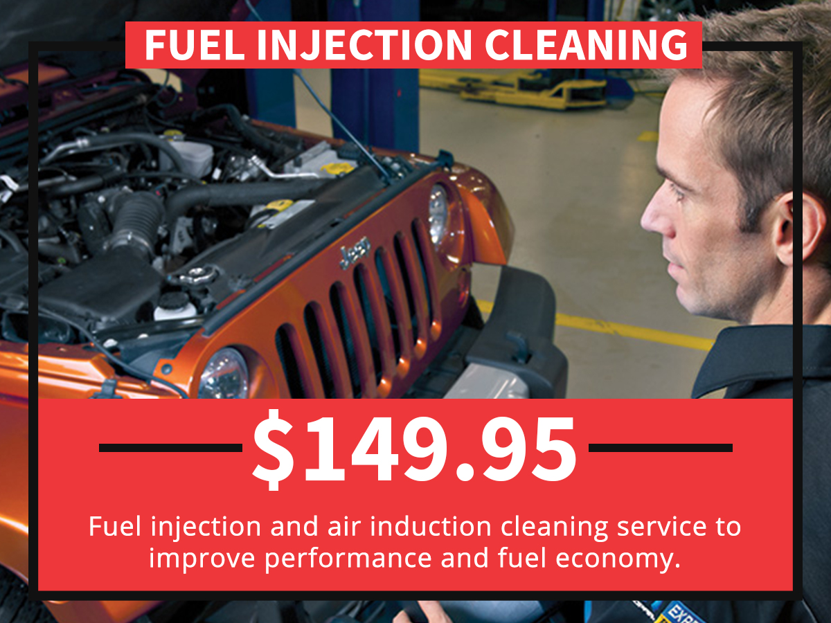 Fuel Injection Cleaning Service Special