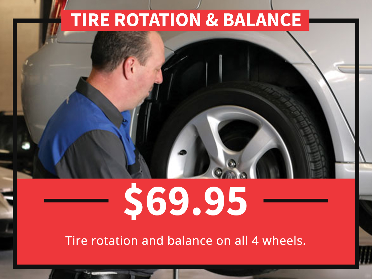 Tire Rotation & Balance Service Special