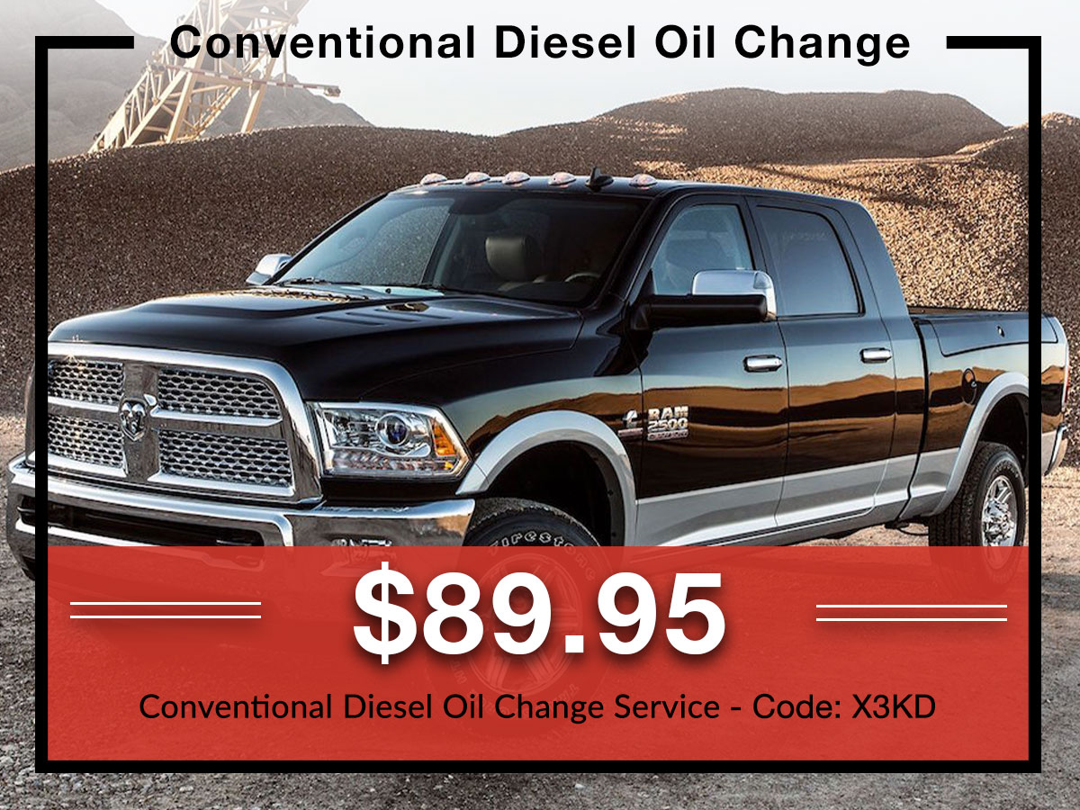 Conventional Diesel Oil change