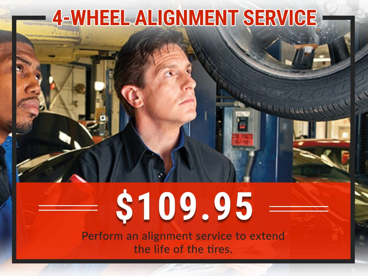4-Wheel Alignment Service Coupon | Green Dodge Ram Springfield, IL