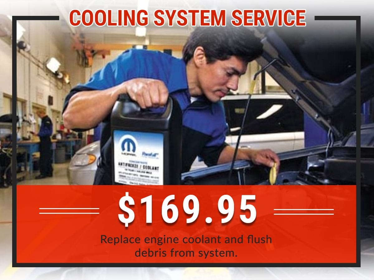 Cooling System Service Coupon | Green Dodge Ram Springfield, IL