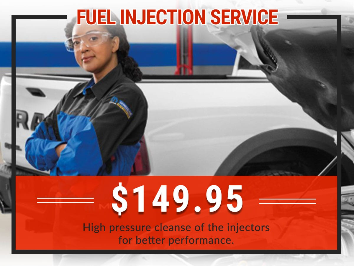 Fuel Injection Service Coupon