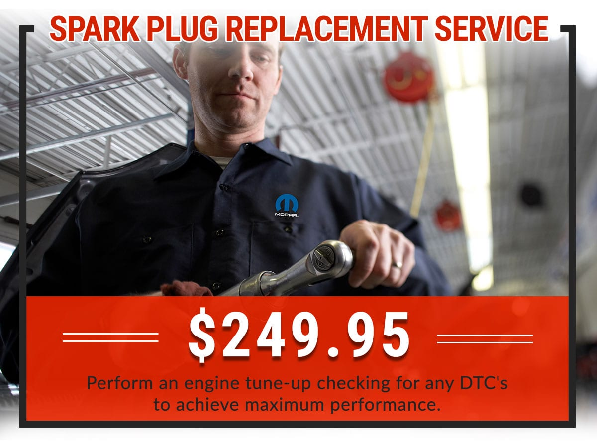 Spark Plug Replacement Service Coupon