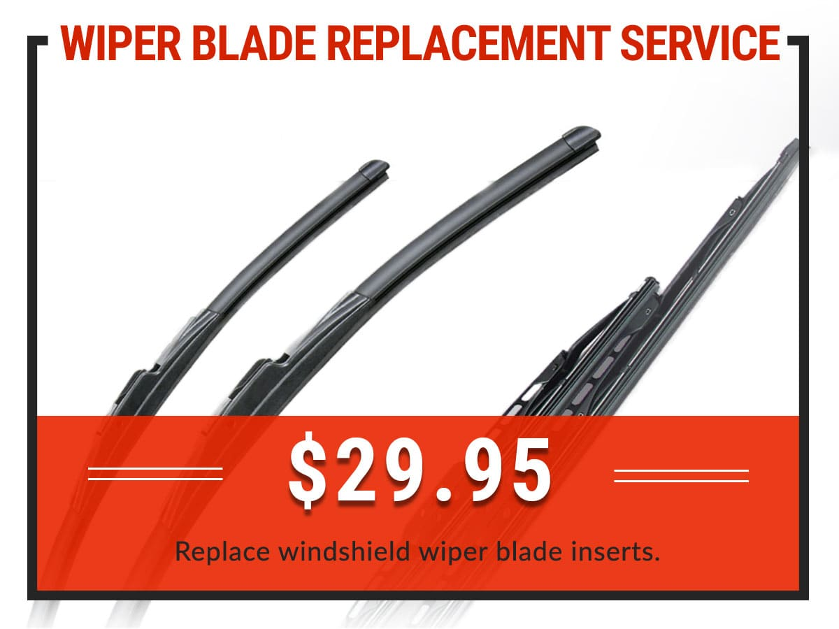 Wiper Blade Replacement Service Coupon